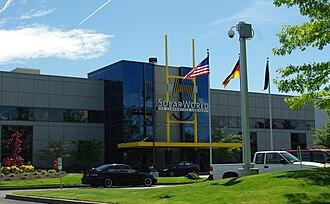 Solar power in Oregon - SolarWorld plant in Hillsboro, Oregon