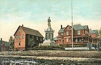 Lubec, Maine - Image: Soldiers' Monument, Lubec, ME