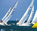Soling's at the North Americans 2007 Wilmette, IL.jpg