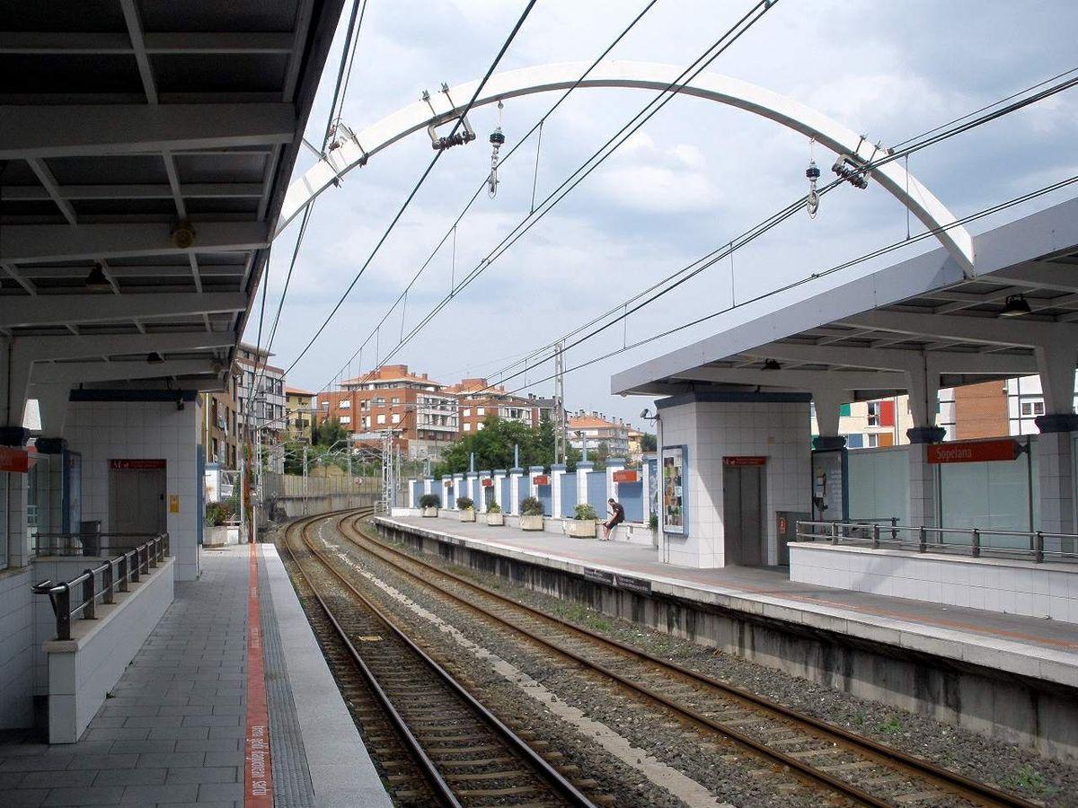 Sopela metro bilbao wikipedia for Oficinas metro bilbao