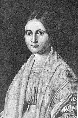 Gustav Koerner - Sophia Dorothea Engelmann lived from 16 November 1815 until 1 March 1888