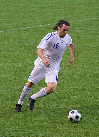 Sotirios Kyrgiakos - Kyrgiakos with Greece in 2008.