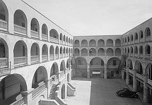 History of The Citadel, The Military College of South Carolina - The old Citadel, Charleston in 1940.