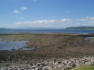 South Kessock - Shingle oreshore