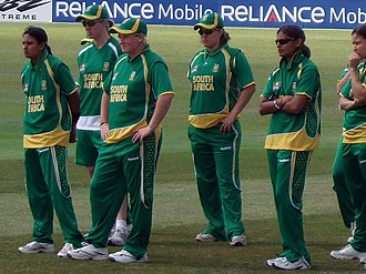 South Africa women's national cricket team - South Africa women at Taunton, 2009 ICC Women's World Twenty20