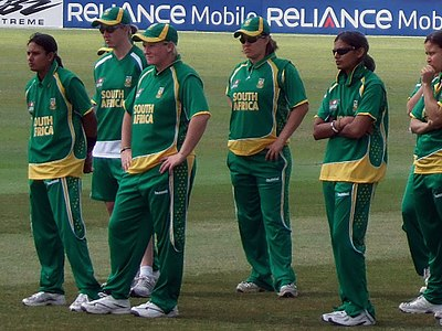 South Africa women at Taunton, 2009 ICC Women's World Twenty20 South africa women at taunton.jpg