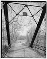 South approach. - River Vale Bridge, Spanning White River on County Road 27, Bedford, Lawrence County, IN HAER IND,47-BED.V,2-5.tif