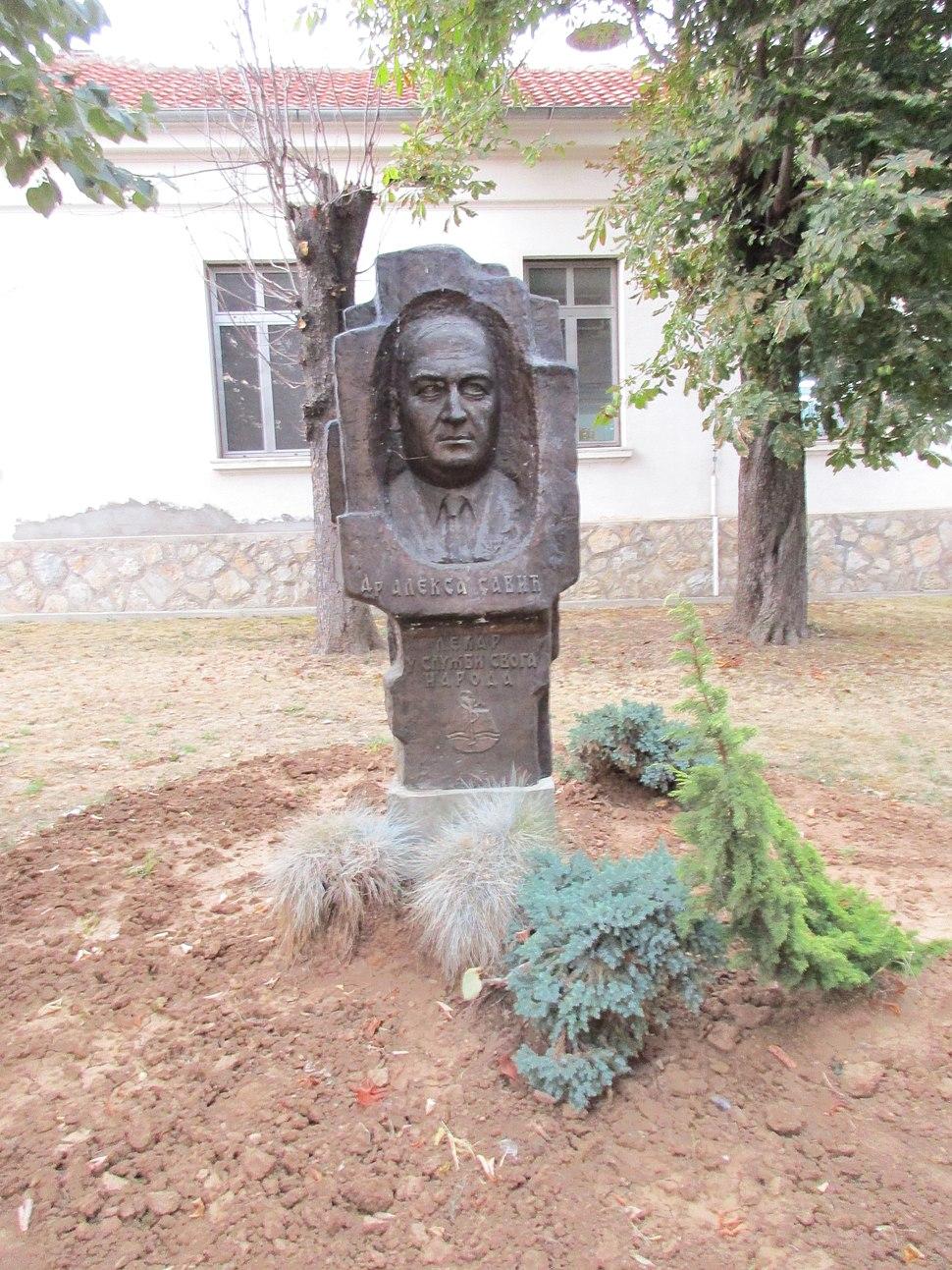 Spomenik Aleksi Saviću, Prokuplje 03