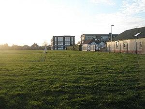 Springfield School, Portsmouth - Image: Springfield School Drayton geograph.org.uk 714215