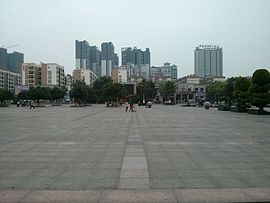 Square of Culture Palace,Liu`jiang county.jpg