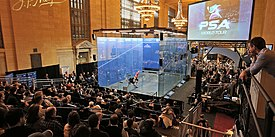 Squash Tournament of Champions 2019, Grand Central Station, NYC.jpg