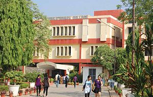 Sri Venkateswara College - Main Building of Sri Venkateswara College