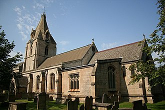 Mansfield Woodhouse - Image: St.Edmund's church, Mansfield Woodhouse geograph.org.uk 237717