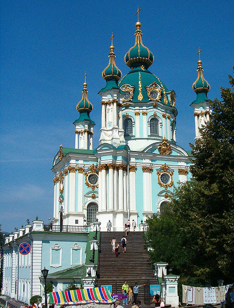Datei: St. Andriy's Church in Kyiv.jpg