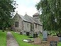 St. David's church and churchyard, Llanddewi Rhydderch - geograph.org.uk - 1418653.jpg