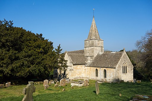 St. Kenelm's Church, Sapperton, Gloucestershire