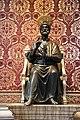 St. Peter's Basilica, Bronze Statue of St. Peter (48466478846).jpg