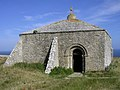St Aldhelm's Chapel, St Aldhem's Head, Isle of Purbeck - geograph.org.uk - 27943.jpg
