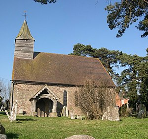 Stretford, Herefordshire - Church of St Cosmas and St Damian