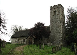 Barnby, Suffolk - Image: St John the Baptist's Church, Barnby (1) geograph.org.uk 591729