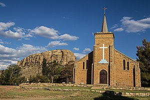 Religion in Lesotho - St Michaels Cathedral in Lesotho.