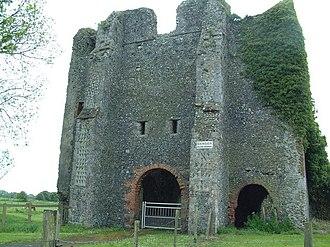 St. Radegund's Abbey - The abbey gatehouse