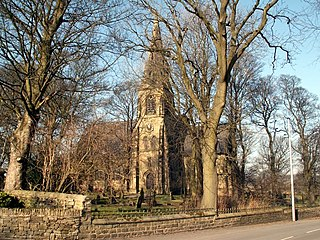 Church of St Thomas, Thurstonland Church in West Yorkshire, England
