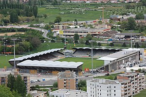 Stade de Tourbillon (April 2009)