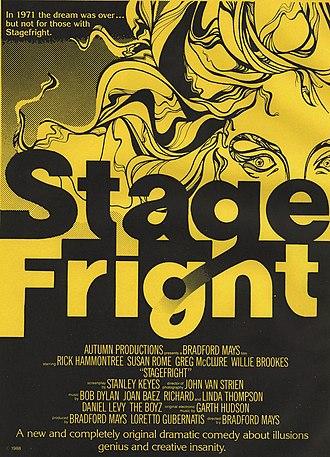 Stage Fright (1989 film) - Image: Stagefrightposter