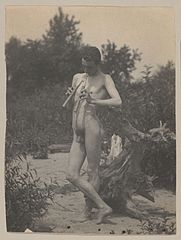 Standing Male Nude with Pipes - Thomas Eakins.jpg