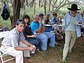 Starr-030409-0049-Prosopis pallida-fence blessing with Tri Isle crew-Puu o Kali-Maui (24548048931).jpg