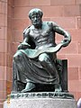 Statue of Aristotle at the University of Freiburg - panoramio.jpg
