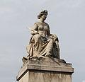 Statue of the Seine, Pont du Carrousel, Paris 11 July 2014.jpg