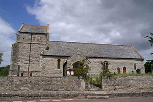 Stawell, Somerset - Image: Stawell church