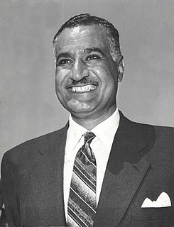 Gamal Abdel Nasser Second president of Egypt