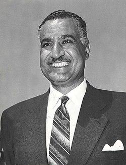 Stevan Kragujevic, Gamal Abdel Naser u Beogradu, 1962.jpg