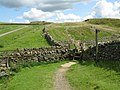 Stile on Hadrian's Wall Path - geograph.org.uk - 1410591.jpg