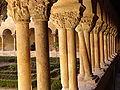 Sto Domingo de silos,columna curiosa.JPG