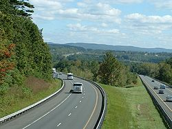 Stockbridge-Mass Pike View