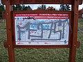 Stodůlky, vozíčkářský rozcestník Oistrachova podchod, mapa.jpg