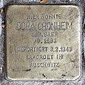 Stolperstein Barstr 28 (Wilmd) Dora Cronheim.jpg
