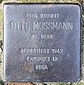 Stolperstein Gleditschstr 80 (Schöb) Otto Mossmann.jpg