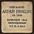 Stolperstein für Arthur Israelski (Cottbus).jpg