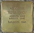Stolperstein für Bunia Bron (Chișinău).jpg