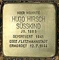 Stolperstein für Hugo Hirsch Süsskind (Köln).jpg