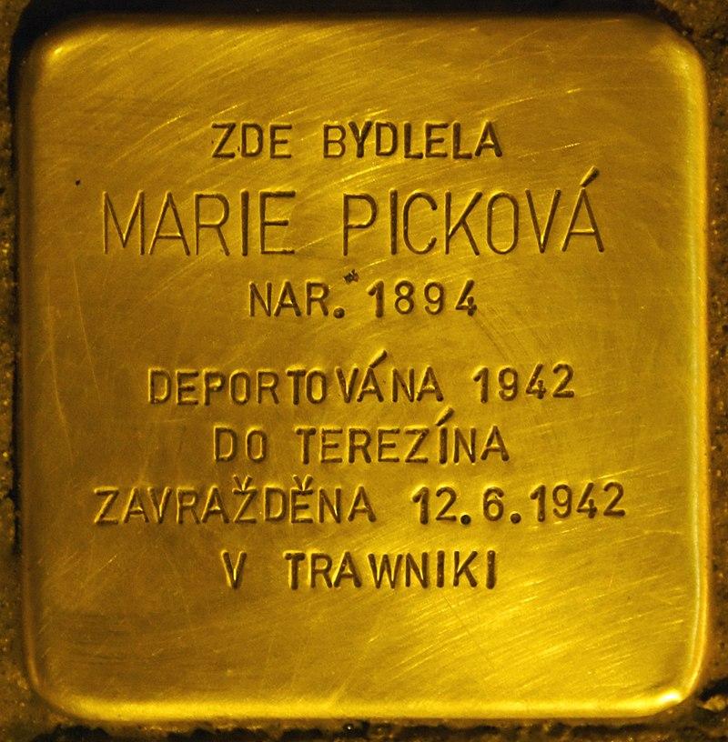 Stolperstein für Marie Pickova.jpg