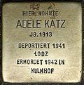 Stumbling block for Adele Katz (Weyerstraße 110)