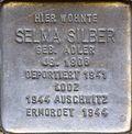 Stumbling block for Selma Silber (Agrippastraße 10)