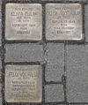 Stolpersteine für Gerda Alice Philip, Clara Philip und Felix von Halle