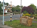 Stone and signpost, Otley Road, Eldwick - geograph.org.uk - 32176.jpg